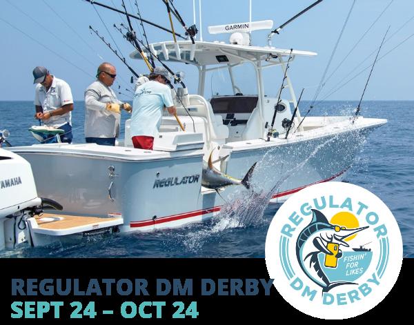 Regulator DM Derby Sept 24-Oct 24